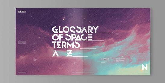 tipografia Cosmonaut