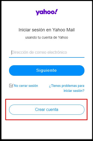 How to create a Yahoo! account step-by-step?
