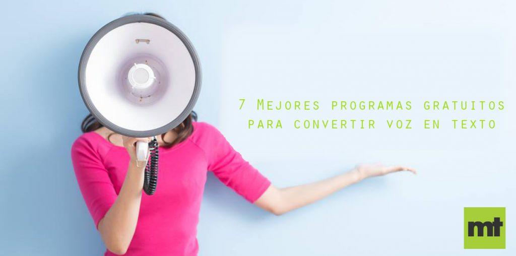 7 Mejores programas gratuitos para transcribir audio a texto online